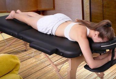 Table de massage pliante professionnelle